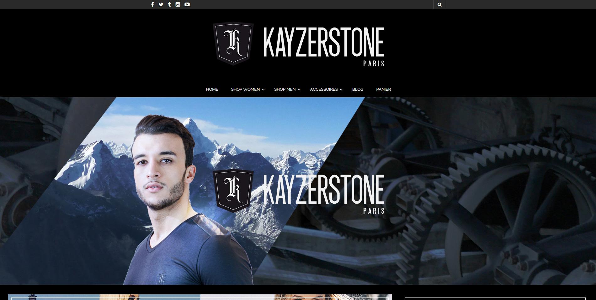 Kayzerstone - Page d'accueil
